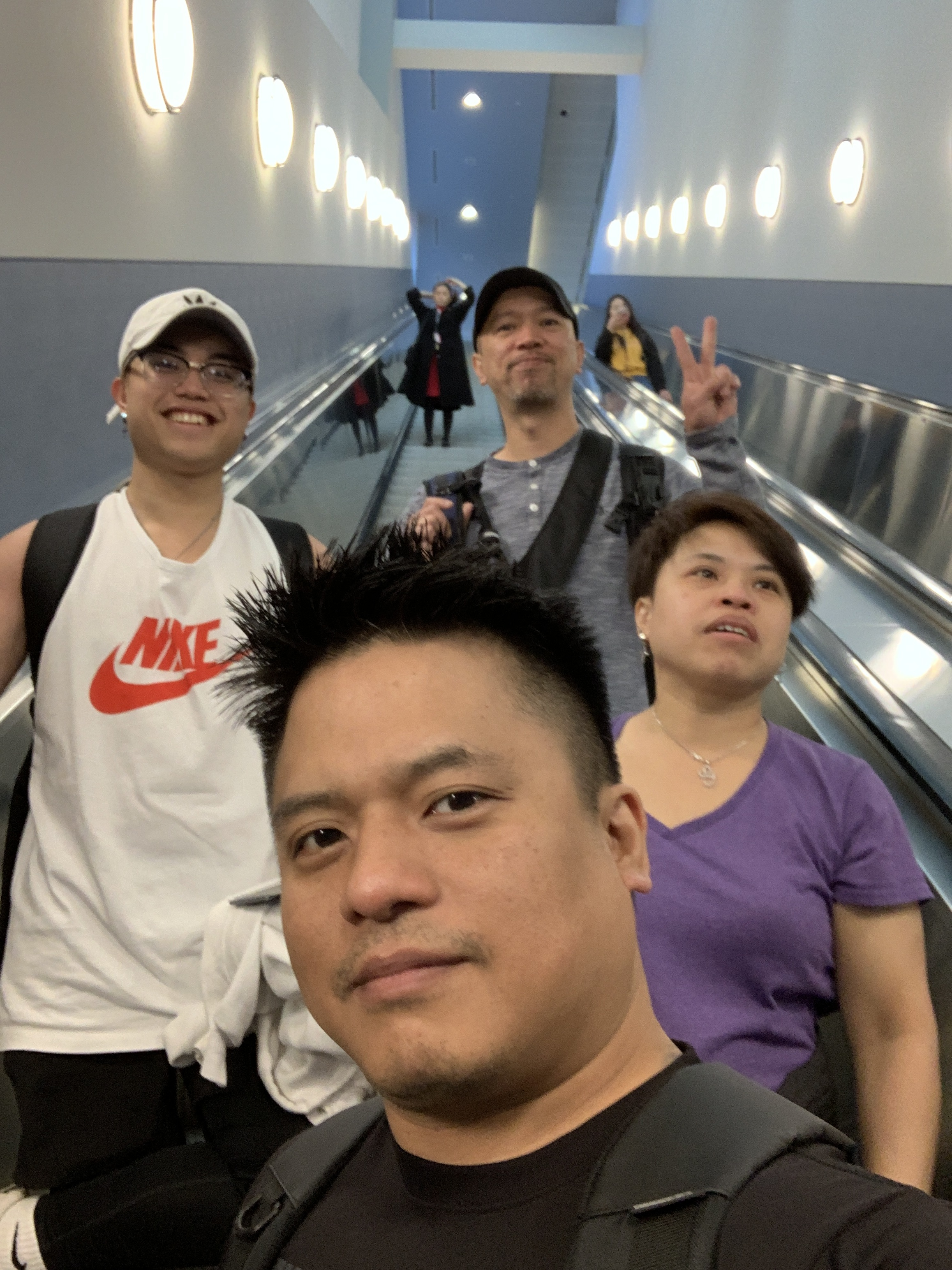 Layover at the Hong Kong International Airport.