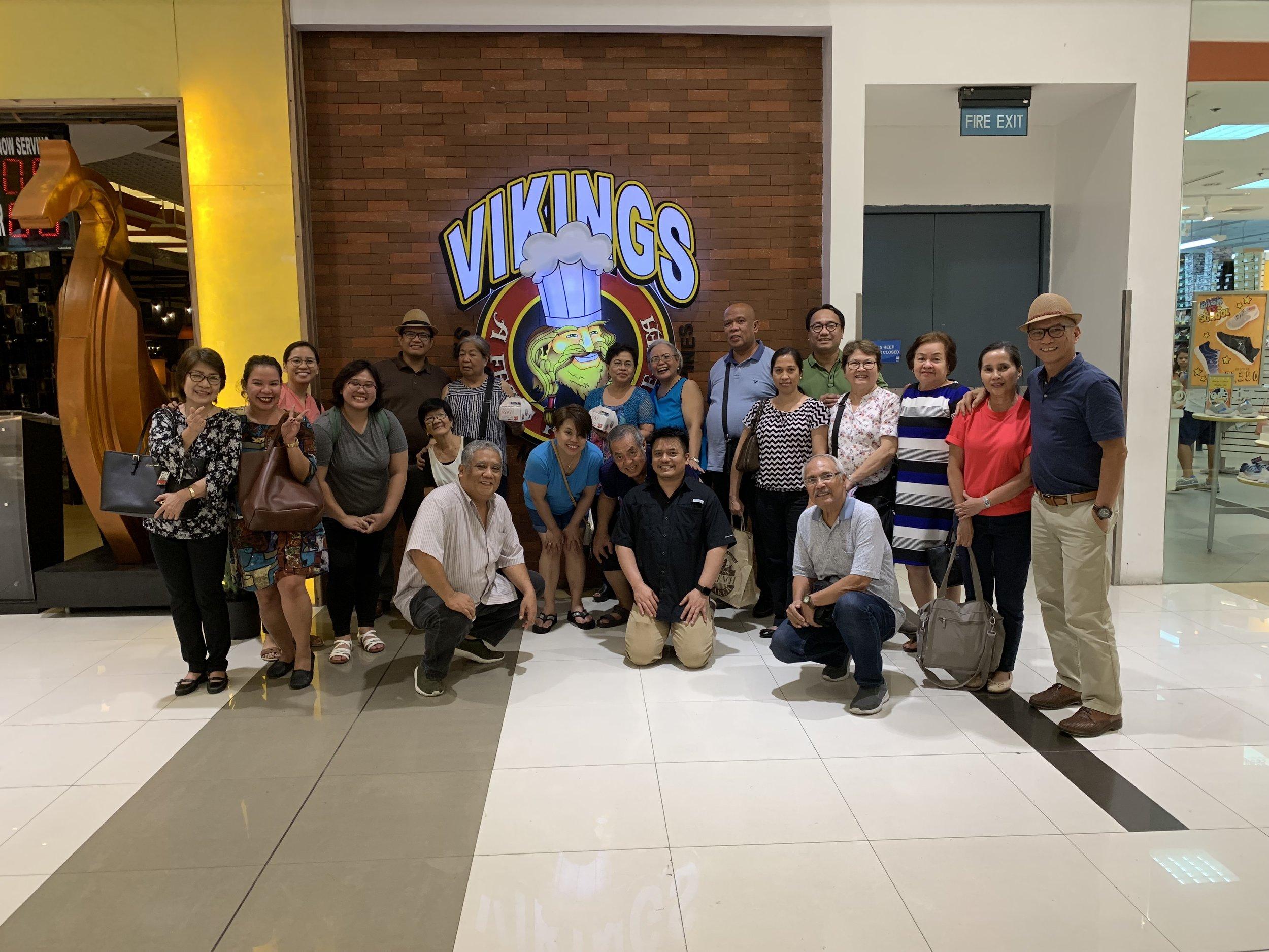Mom's Birthday bash at Vikings, SM Mall - Marikina.