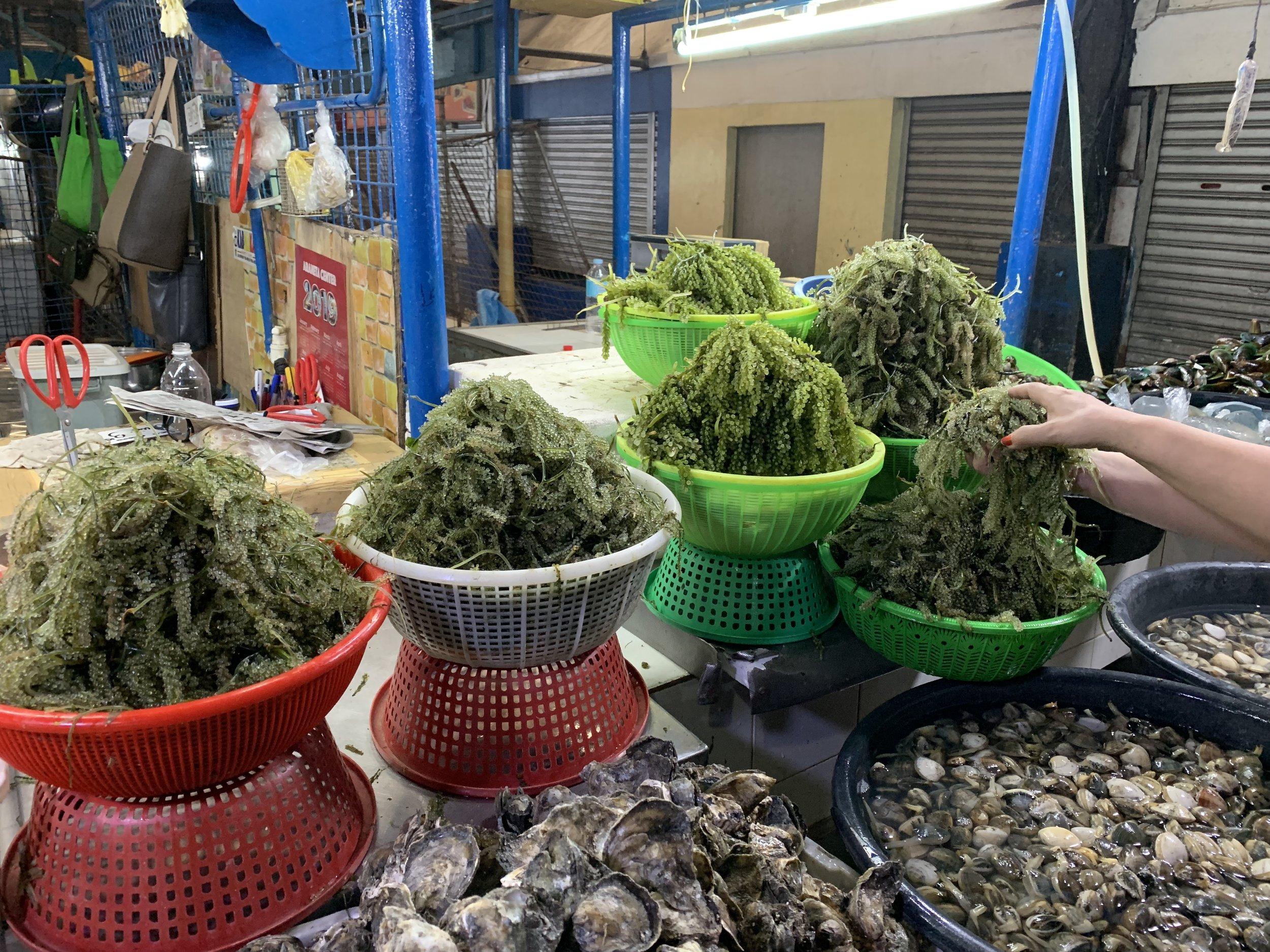 Seaweed anyone? (Farmers Market, Cubao)