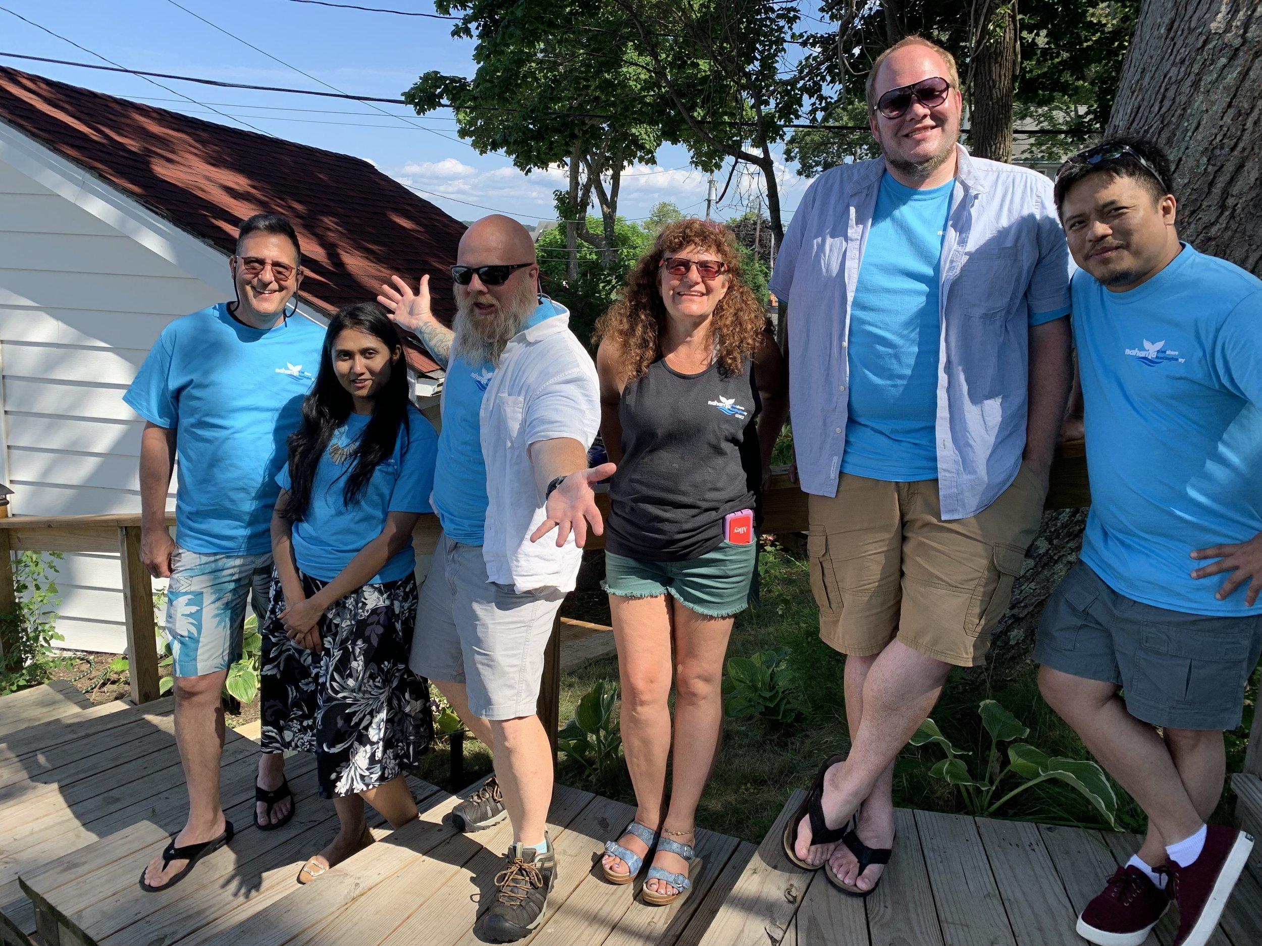 NYT Core Publishing Team  (Photo credit: Akiva Wharton)