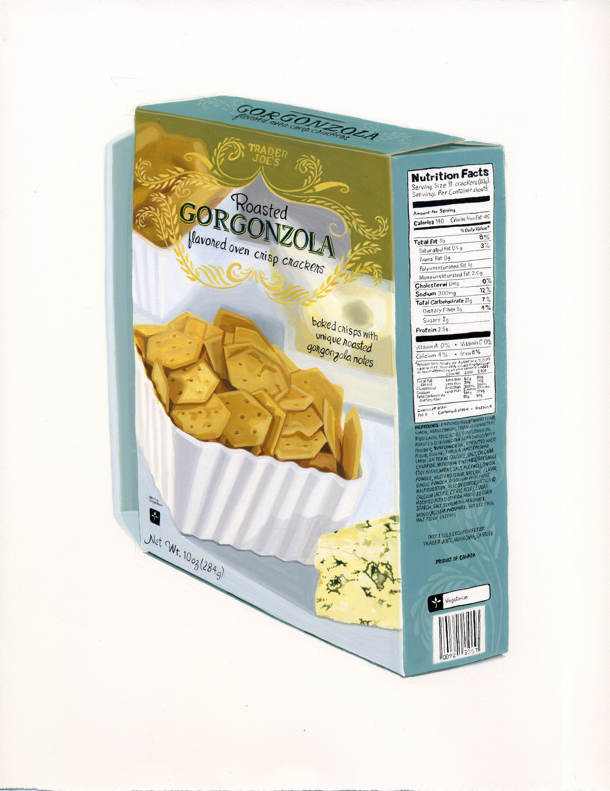 Gorgonzola Crackers