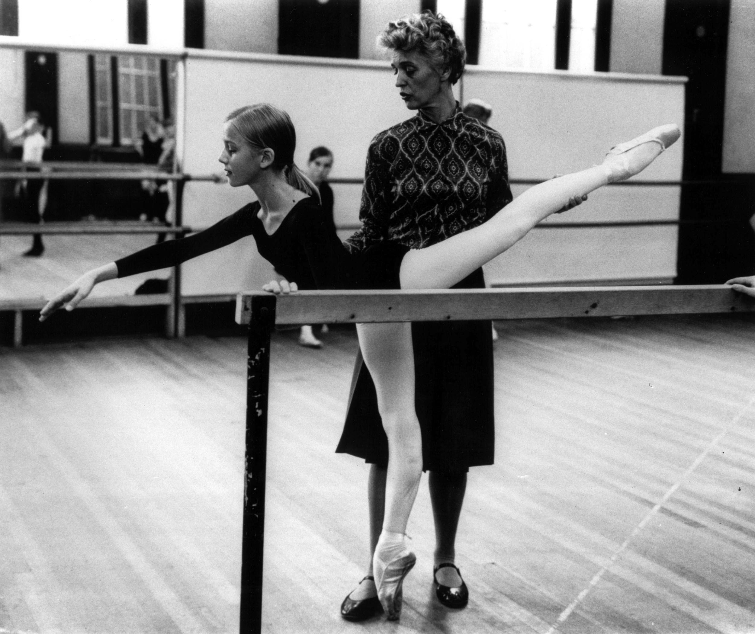 Betty Oliphant and Cecchetti