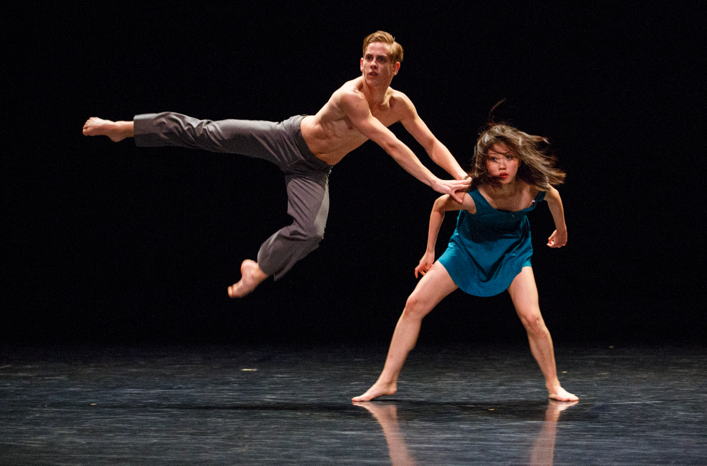 Students perform as part of the 2014 Stephen Godfrey Choreographic Workshop.