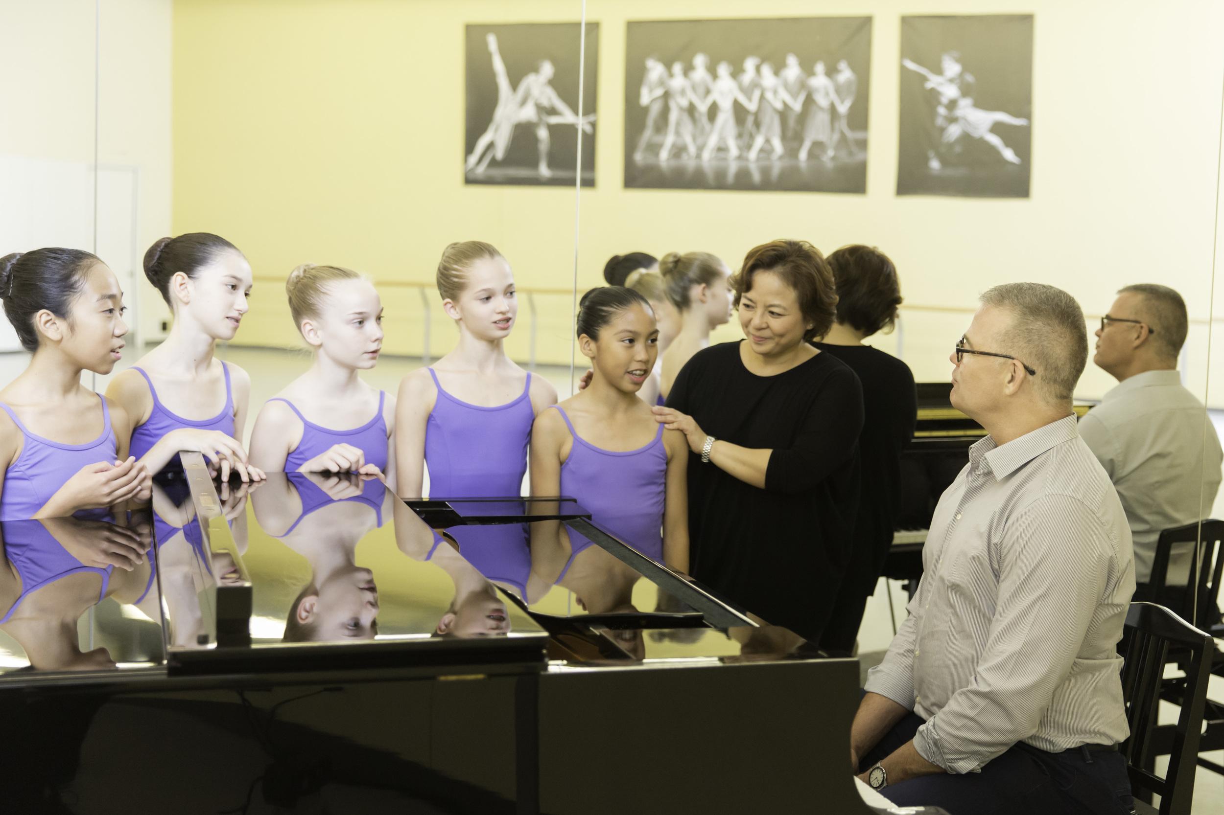 Theaccompanistis an integral element inNBS studio classes.