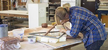 Ceramics Artist in Residence, Jamie Gaul.