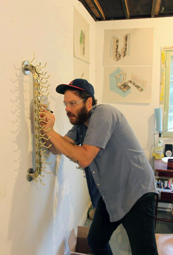 Fall 2014 Artist in Residence, Andy Ralph.
