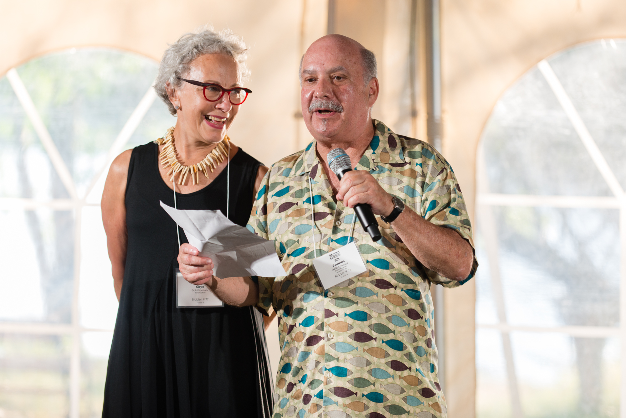 Margy Kaye and Bill Padnos, 2019 Benefit Chairs
