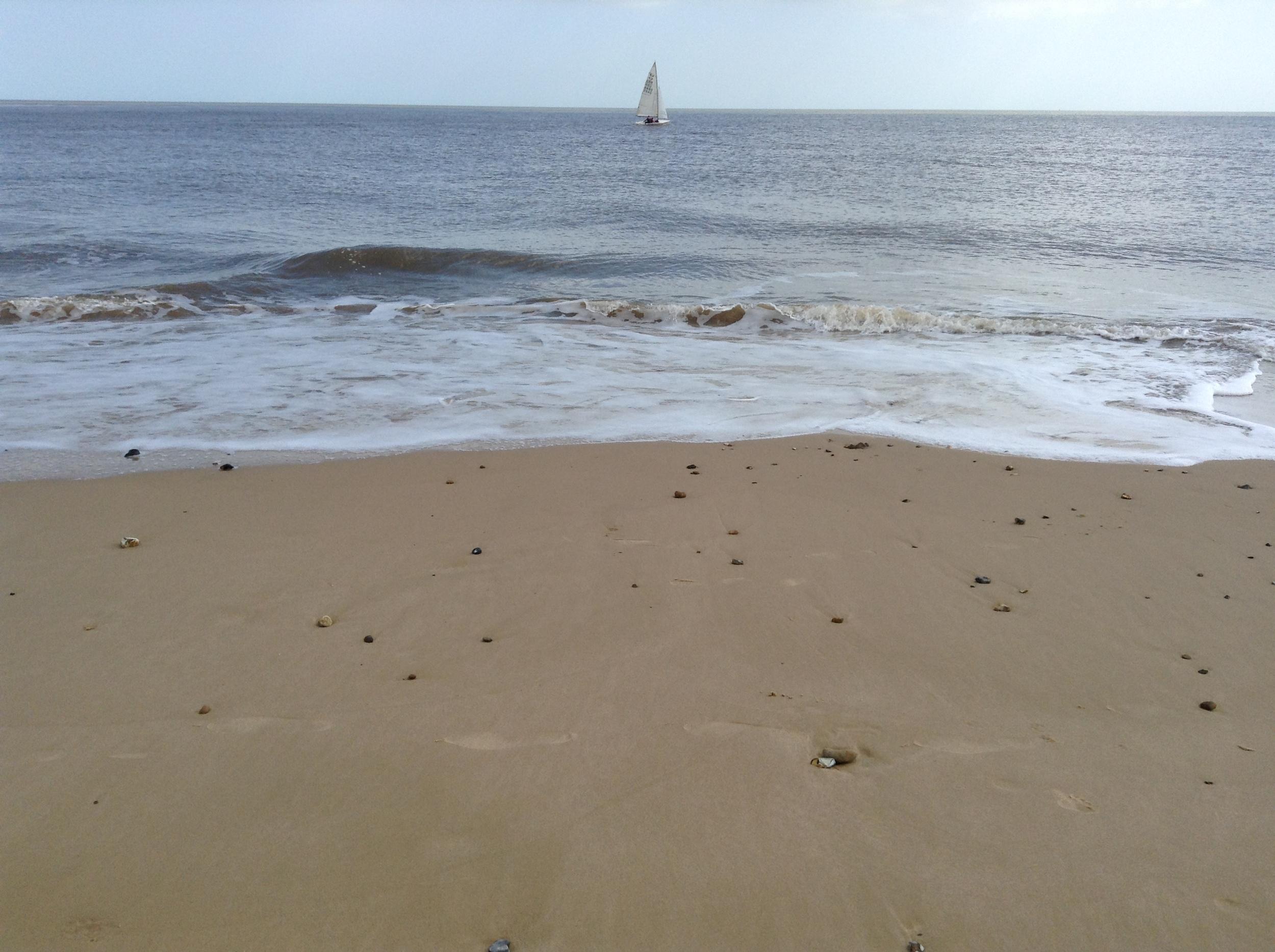 gorleston beach Norfolk.JPG