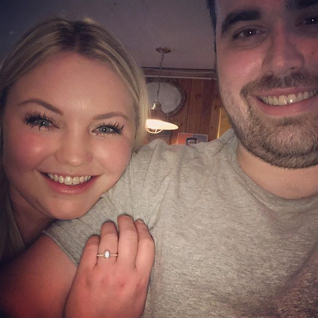 First engaged Valentine's Day! I love you!