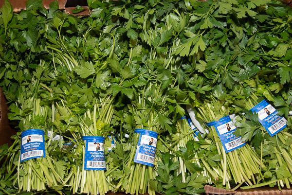 Parsley, Organic