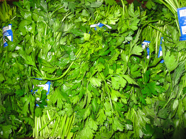 Parsley, Organic