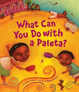 What Can You Do with a Paleta?/¿Qué Puedes Hacer con una Paleta? by Carmen Tafolla - Discover the many ways a paleta (popsicle) can help cool you off on a hot summer day!
