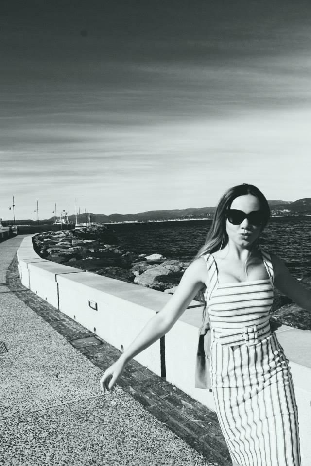Enjoying the port in St. Tropez