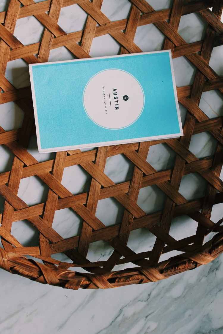 This basket is the perfect home for our Austin book. :)