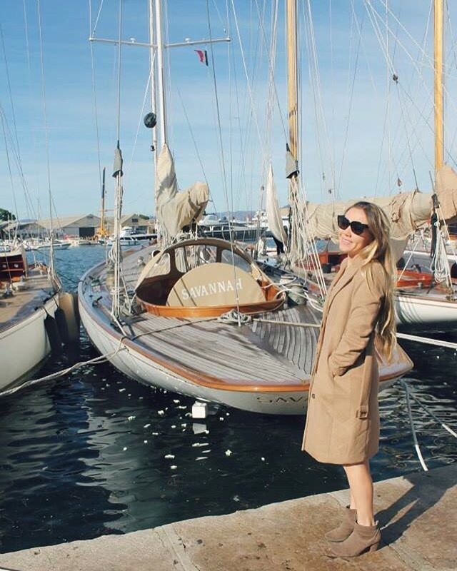 Today Id like to be back in Saint Tropez.