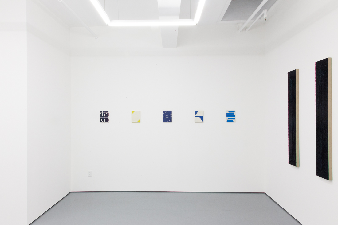Installation view of the exhibition Painting More or Less at Transmitter