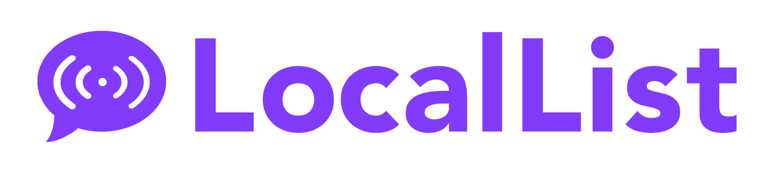LocalList - This logo was created for the CEO of LocalList. Their mission is to give people the power to engage with their community.