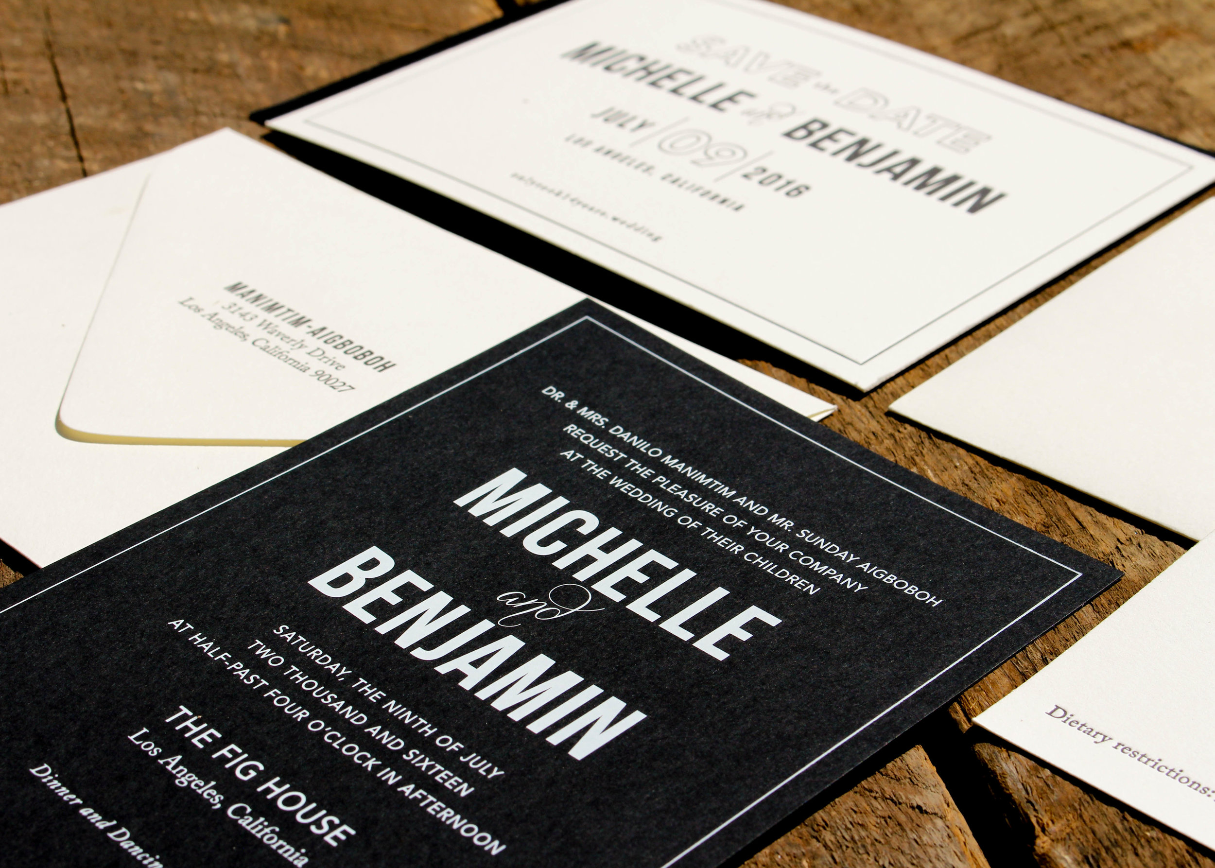 MICHELLE + BENJAMIN