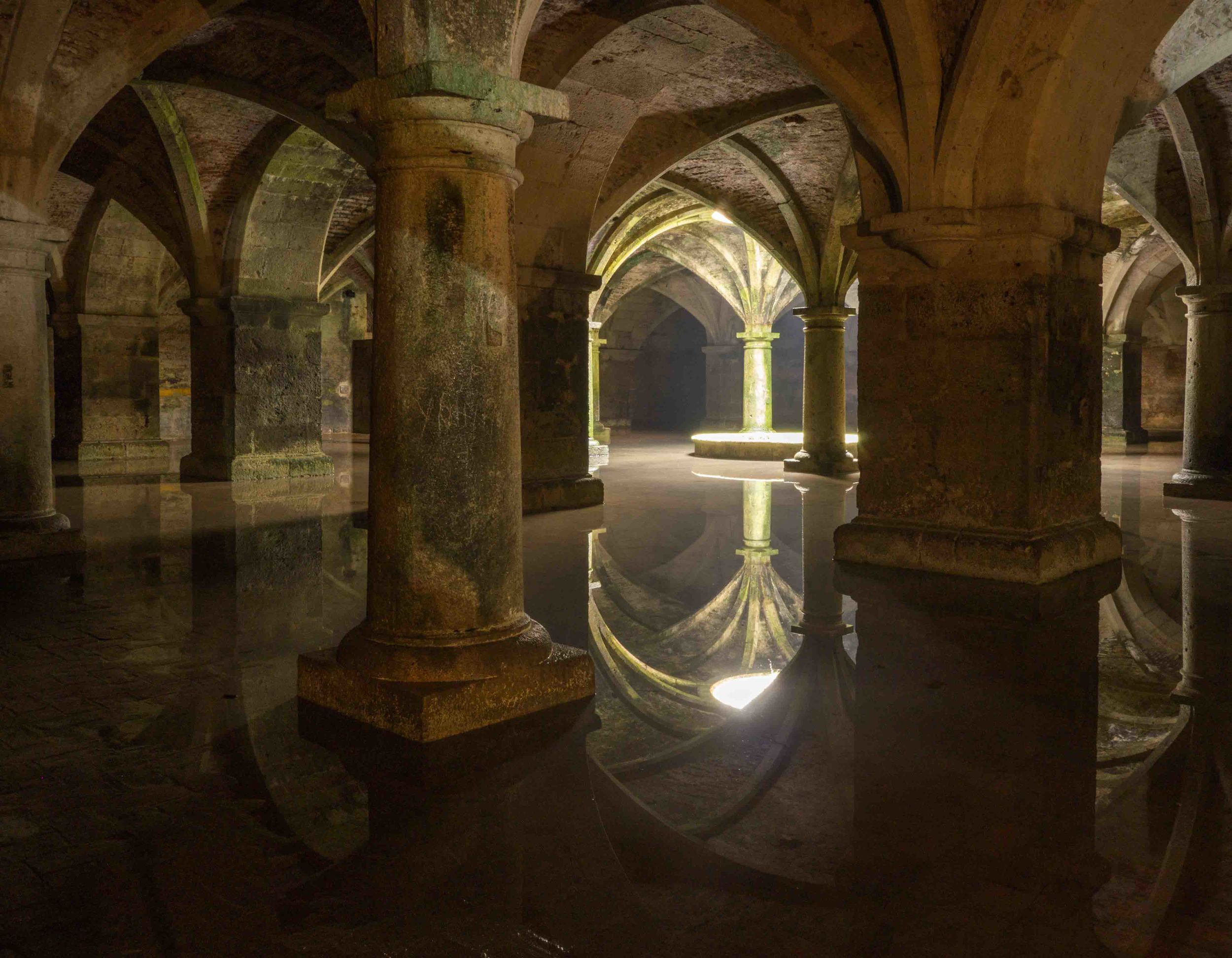 The Portuguese cistern in El Jadida