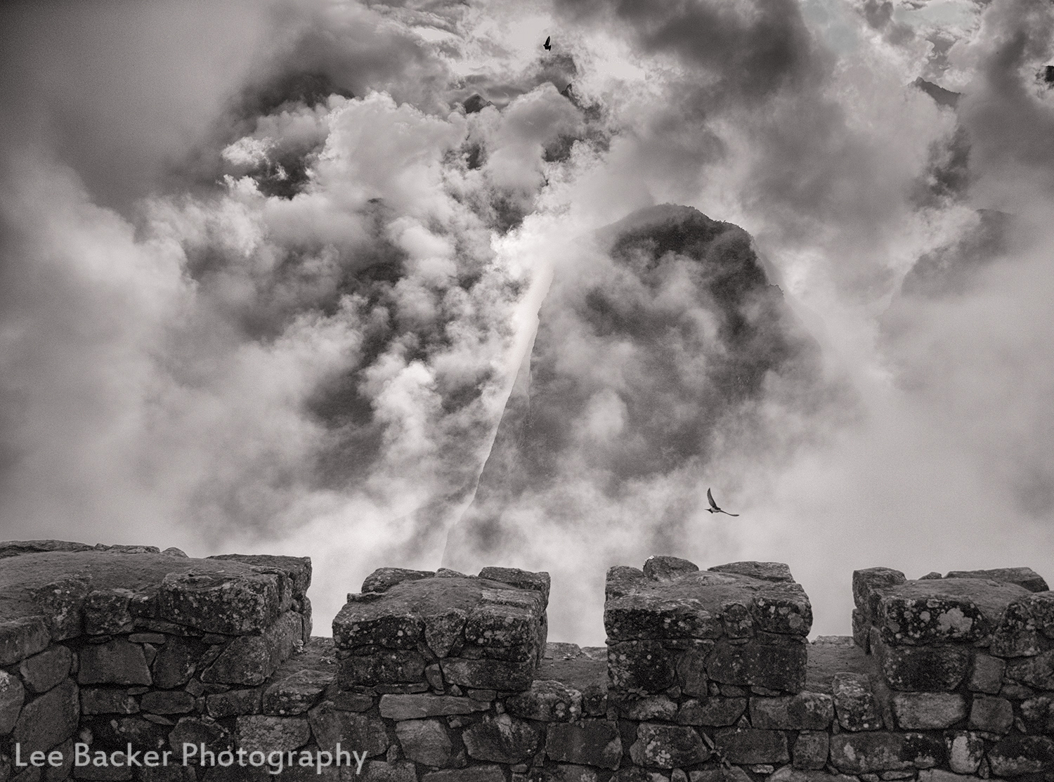 Birds and Clouds, Machu Picchu