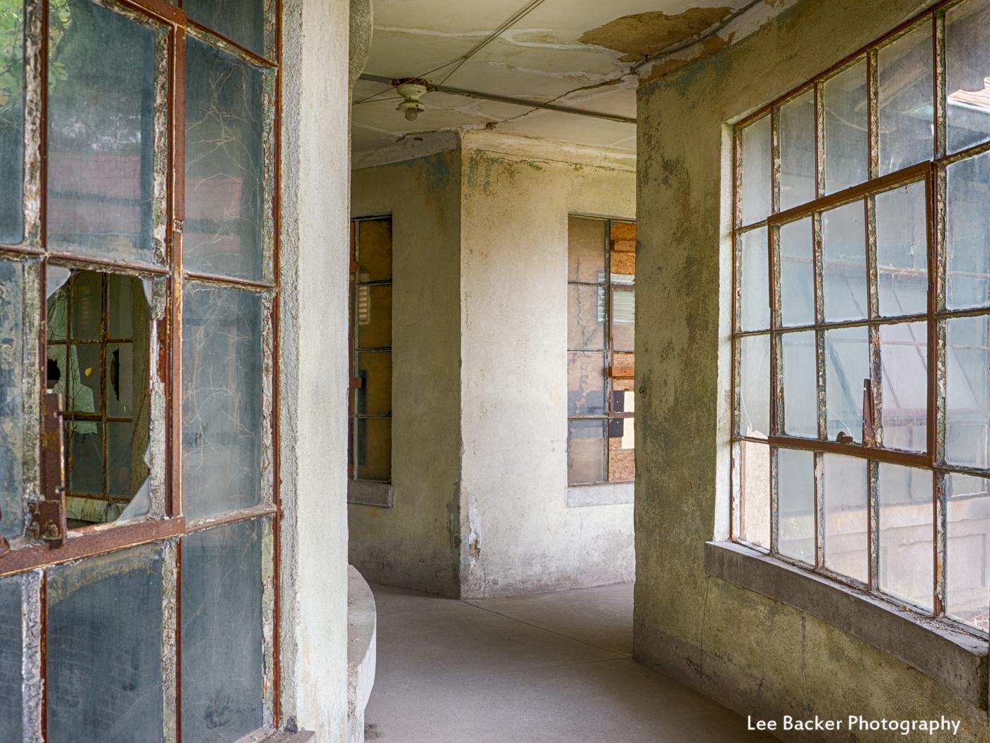 Corridor to Isolation Ward