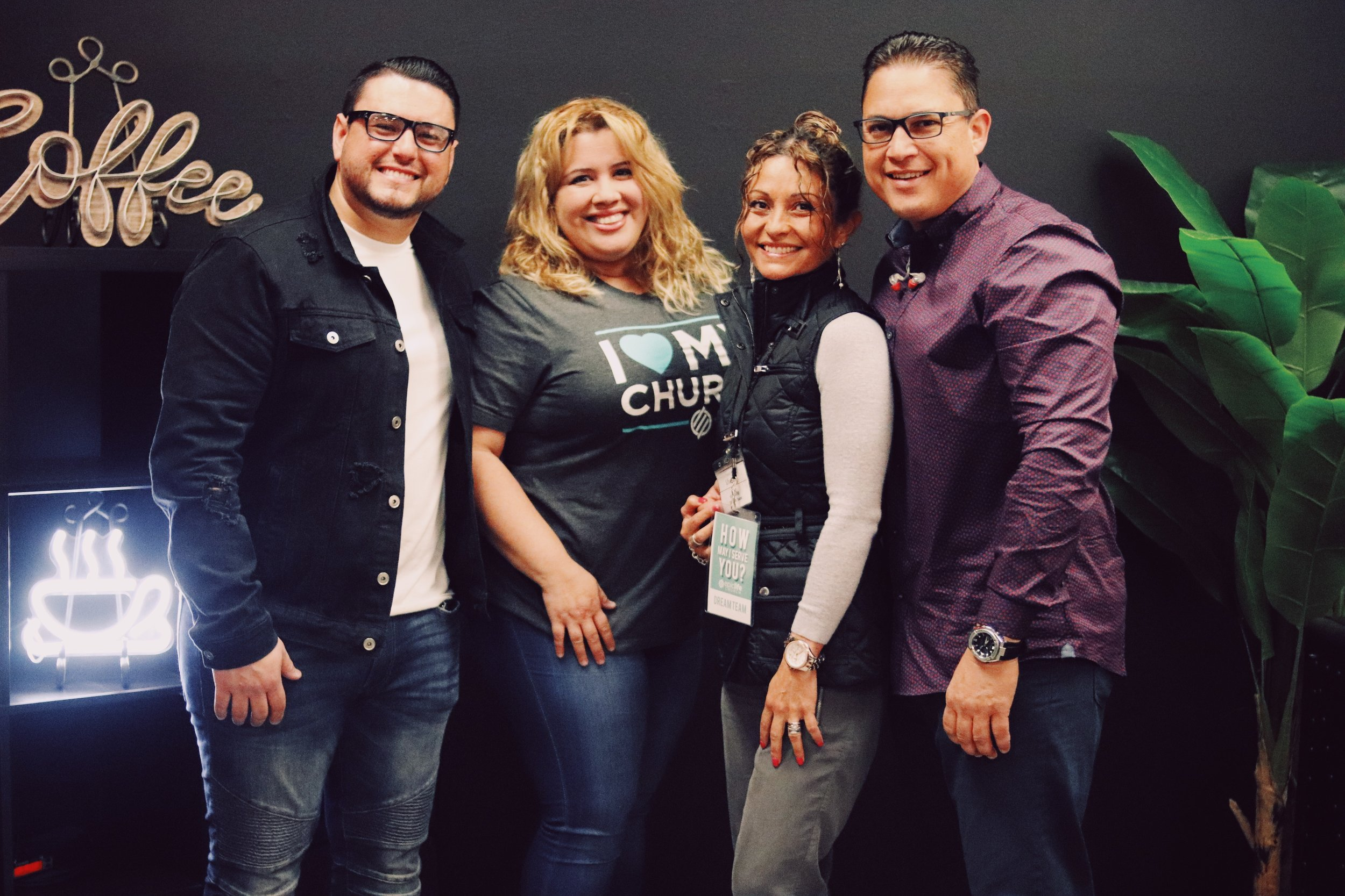 Connect Group Español - Saturday's at 7:00 pm - Lake NonaOscar Negron, Viviana Garzon, Ruben & Vanessa Gil