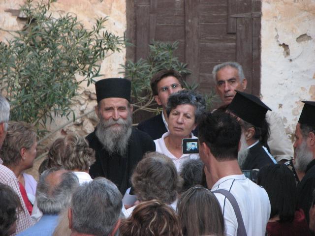 Elder Pavlos and Visitors