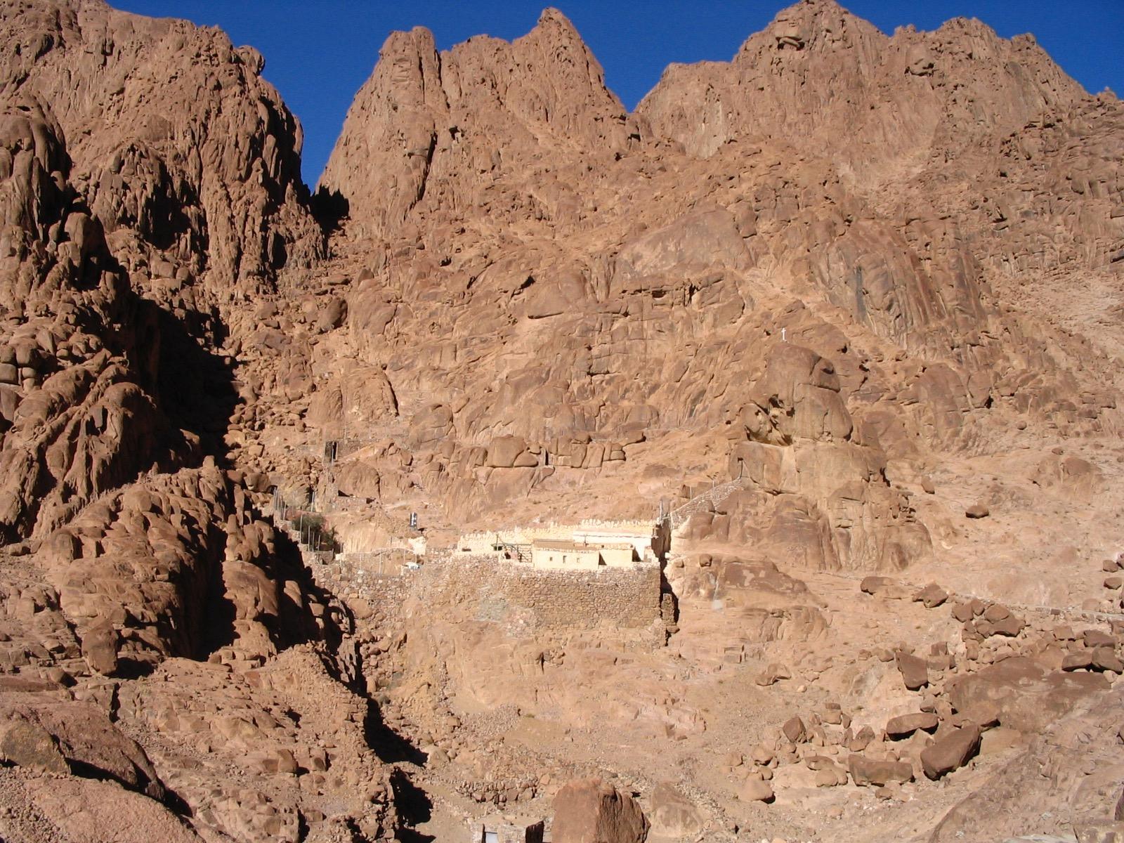 Sinai's 3rd century women's hermitage of Saint Epistimi