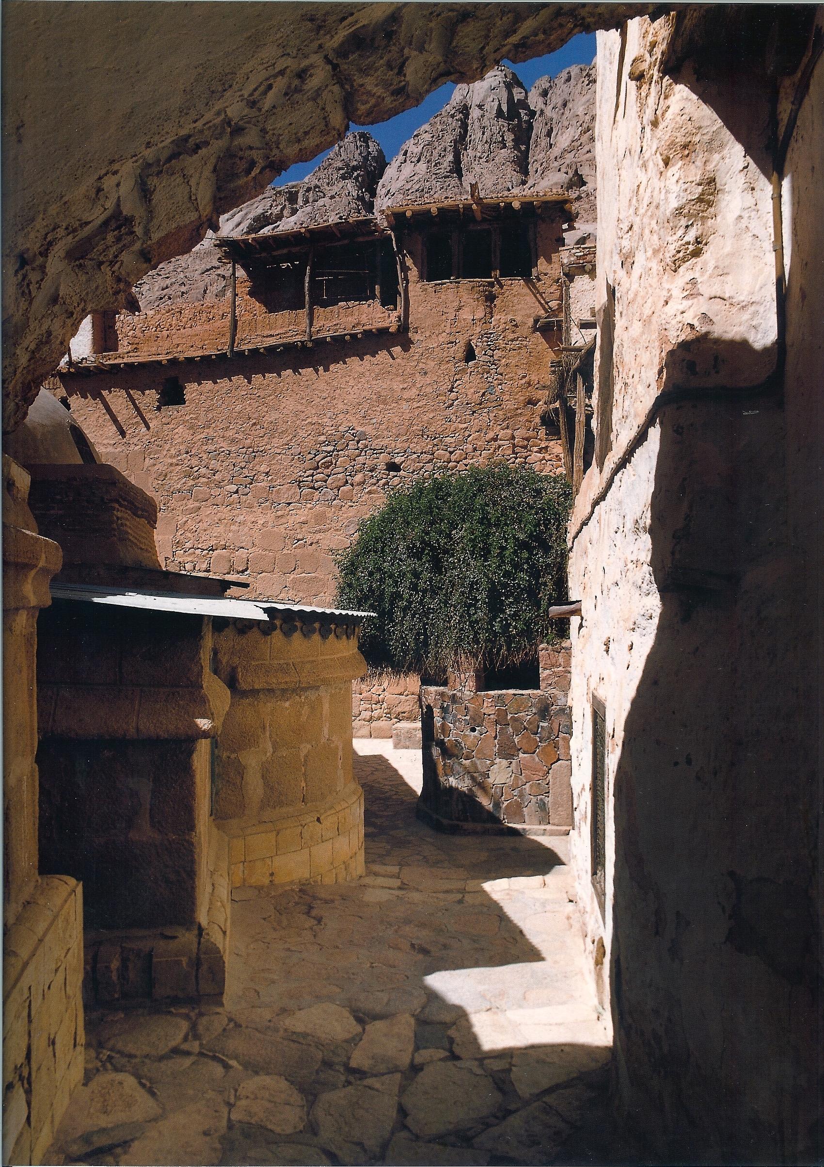 View of the Burning Bush at Saint Catherine's Monastery