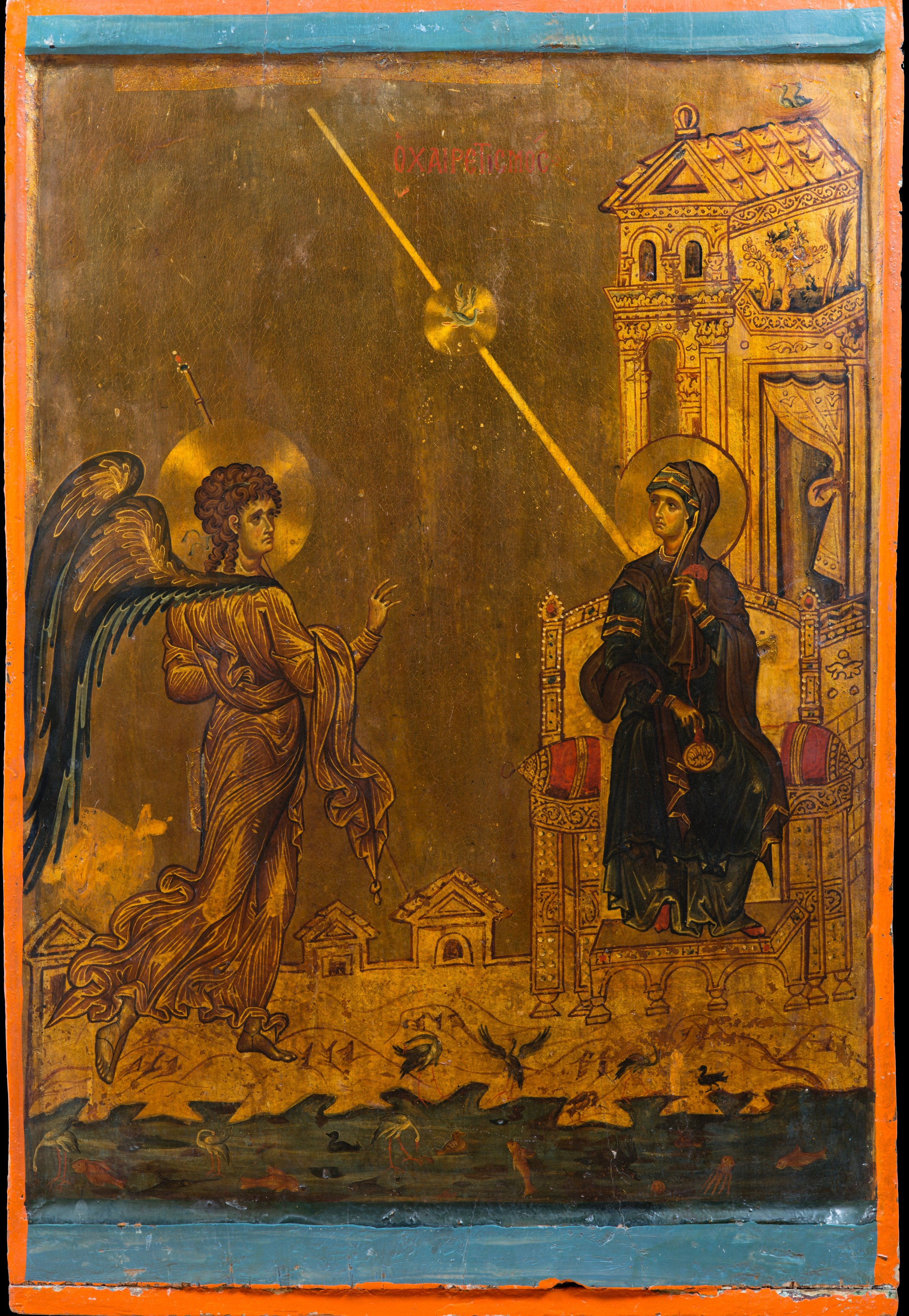Sinai Annunciation Icon (12th Century)