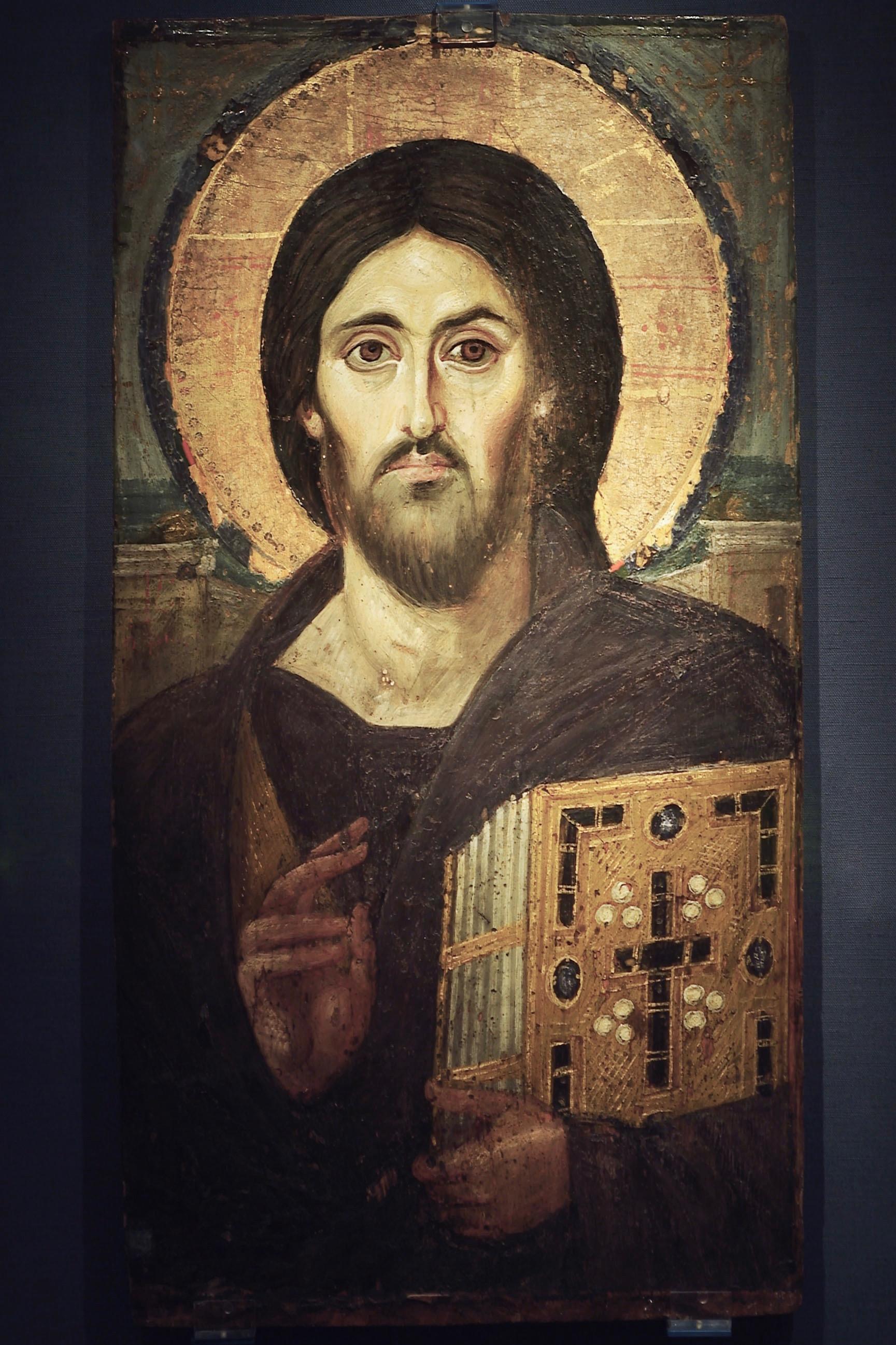 Sinai Icon of Christ Pantocrator