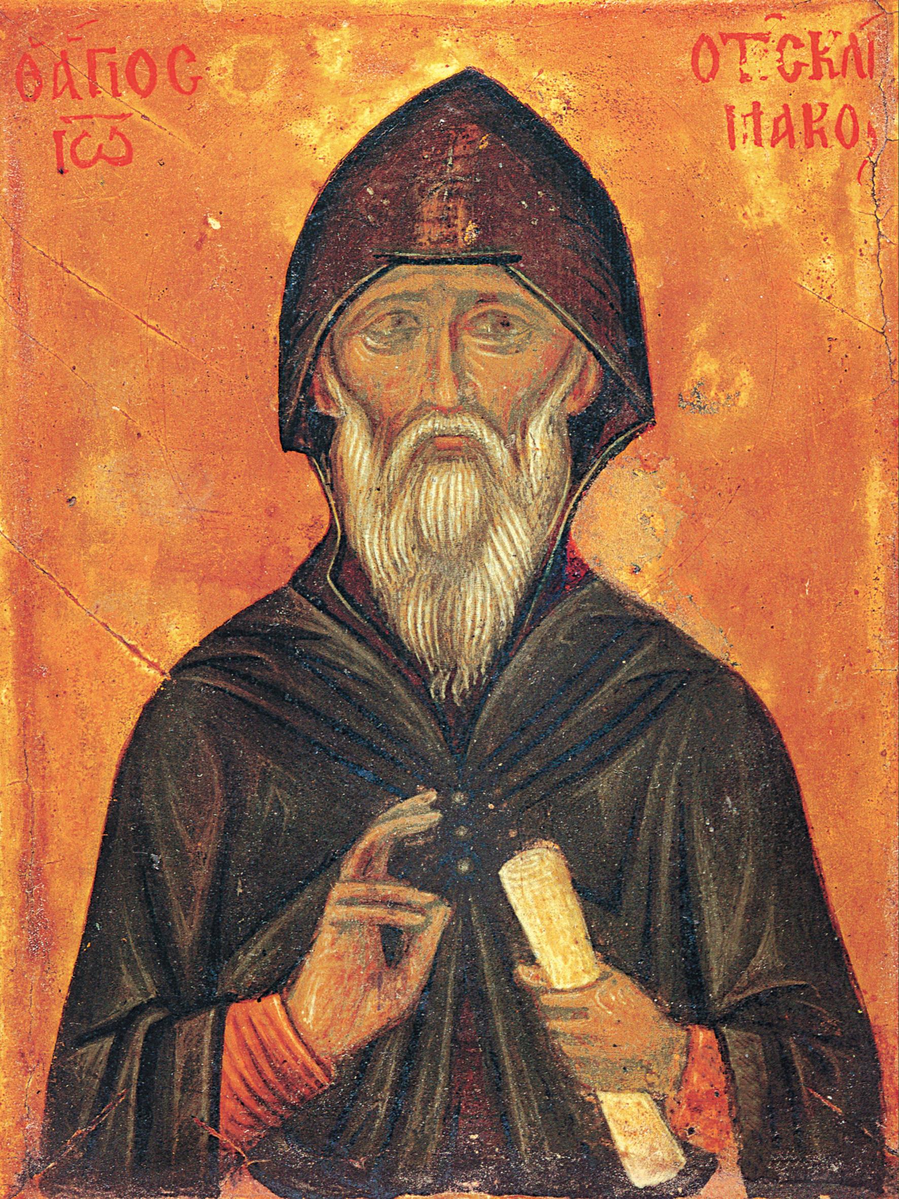 Saint John of the Ladder (Klimakos)