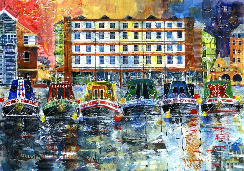 Contemporary art, Sheffield canal basin