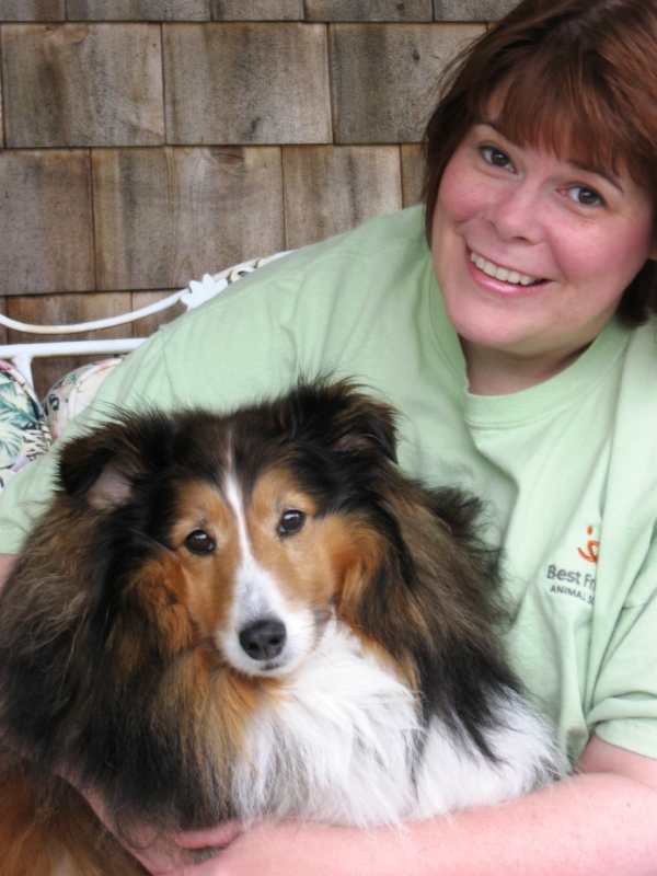 Terri's love for adopted pets led her to fundraising roles at two national animal welfare groups.