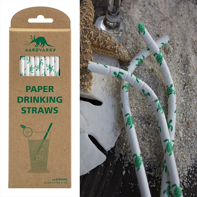 Need a last minute Mother's Day or Teacher Appreciation gift? Order your sea turtle retail pack today! #oceans #seaturtles #paperstraws #mothersday #teacherappreciation https://www.aardvarkstraws.com/printed/sea-turtles-paper-straws?rq=retail