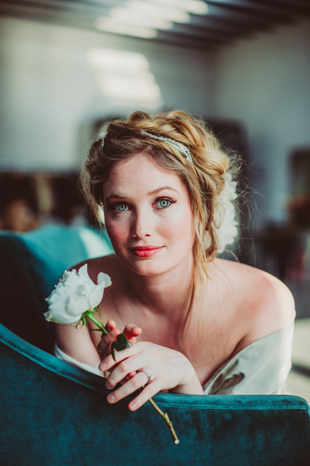 A Brooklyn Boudoir shoot withStarling on Bond.  Photo: Amber Gress.