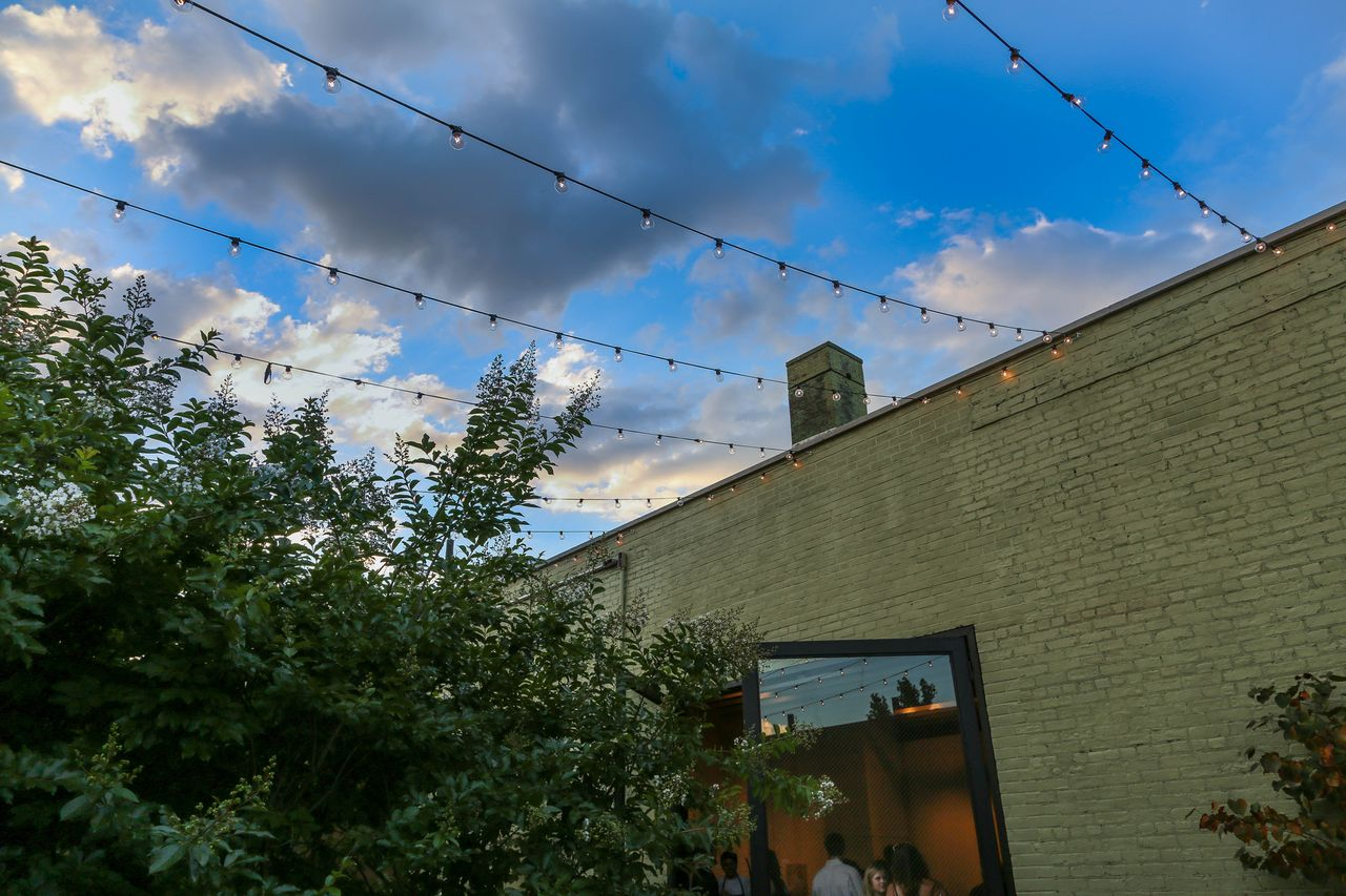 Sky lights in the courtyard. Photo: Aaron Lyles for Pixellab.