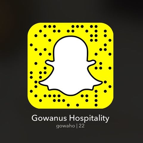 "Join us on Snapchat for all things happening at #gowanushospitality: @greenbuildingnyc @501union @hasbrouckhouseny and more!  Add us by username ""gowaho"" or take a screenshot of this picture, then choose Add by Snapcode.  See you there! #snapchat"