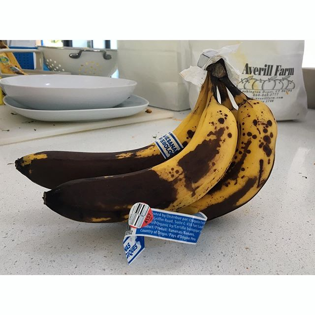 Inspiration in a messy kitchen #bananas