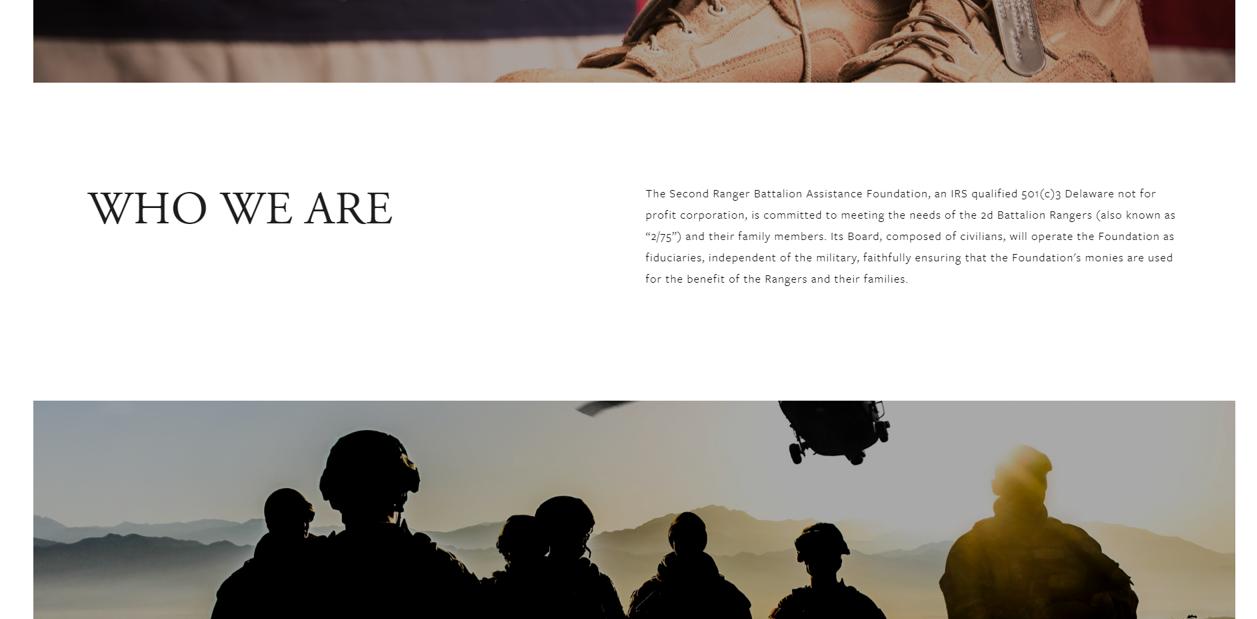 The 2nd Ranger Battalion Assistance Foundation 2.png