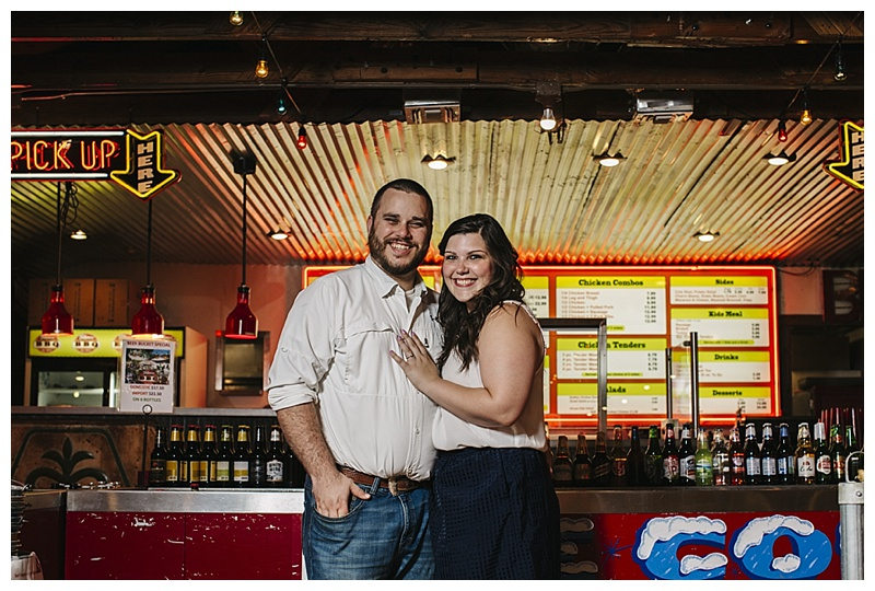 Blanco BBQ - Engagement - San Antonio Wedding Photographer