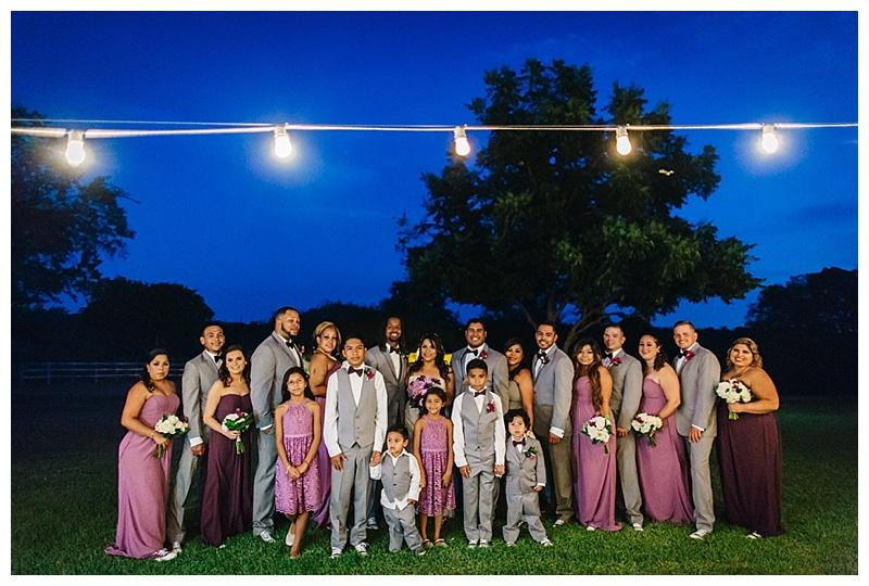 Bridal Party - Texas Wedding