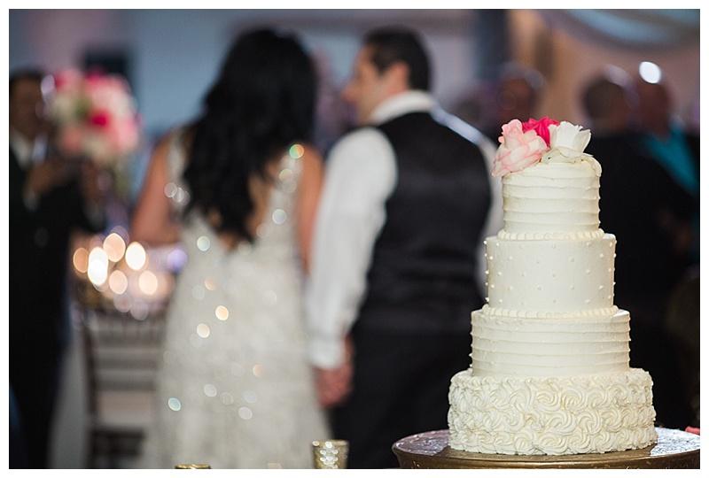 wedding cake - texas hill country wedding