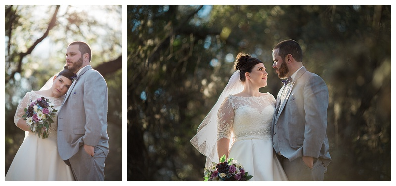 Romantic Bride and Groom - Walker Ranch Park
