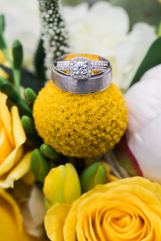 bouquet rings - san antonio wedding