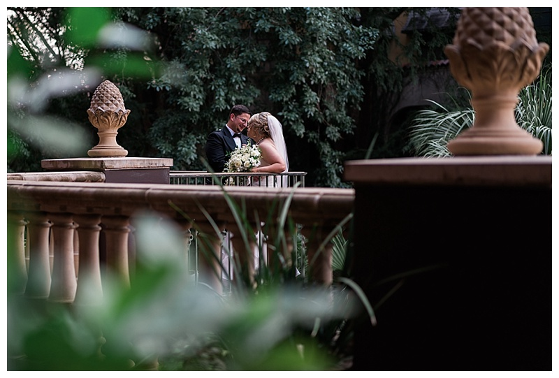 Bride and Groom Romantic Portraits - River Walk San antonio