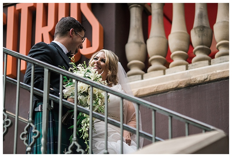 Citrus river walk wedding - san antonio