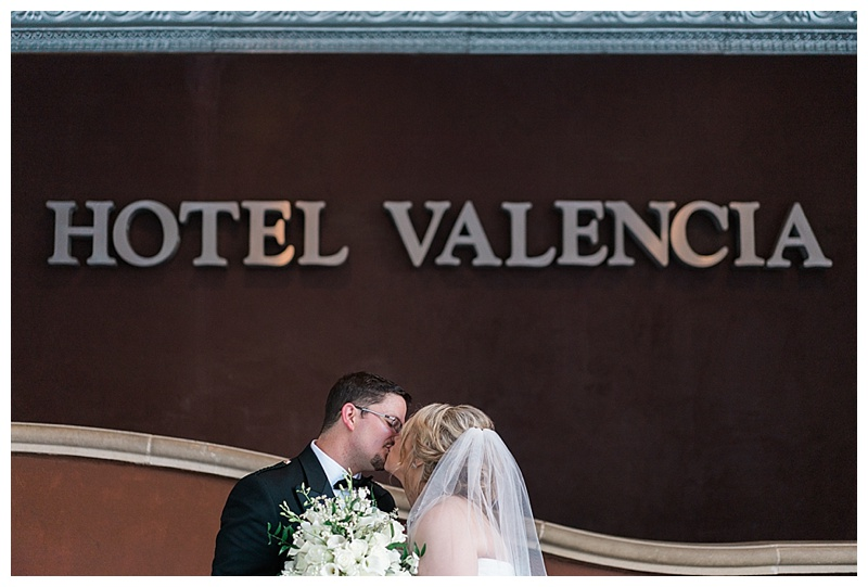 hotel valencia wedding - san antonio