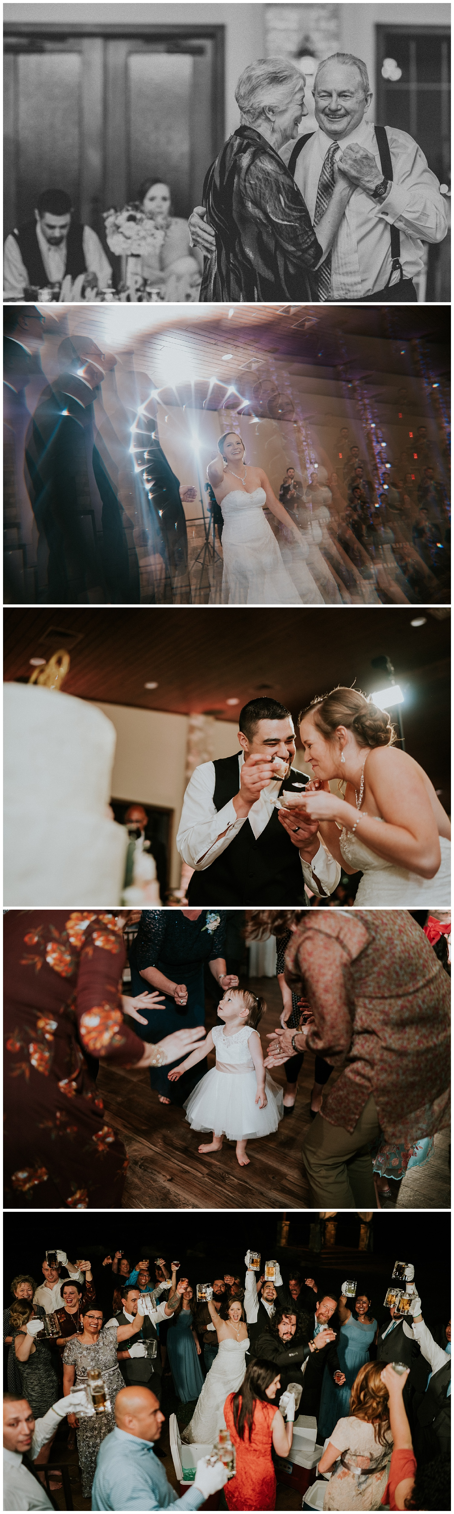 texas wedding party - the club at garden ridge