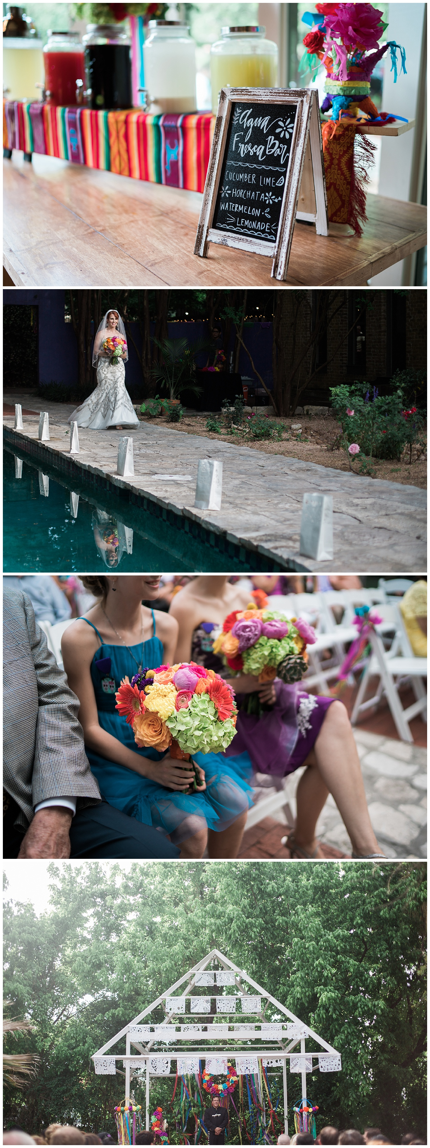 fiest wedding at zaza gardens